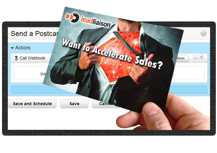 Send Direct Mail with Lead Liaison