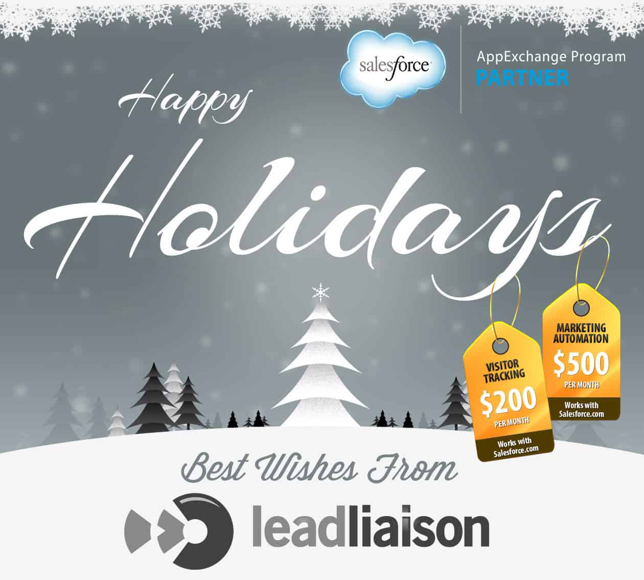 Happy Holidays from Lead Liaison