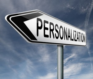 Personalize your Website Content