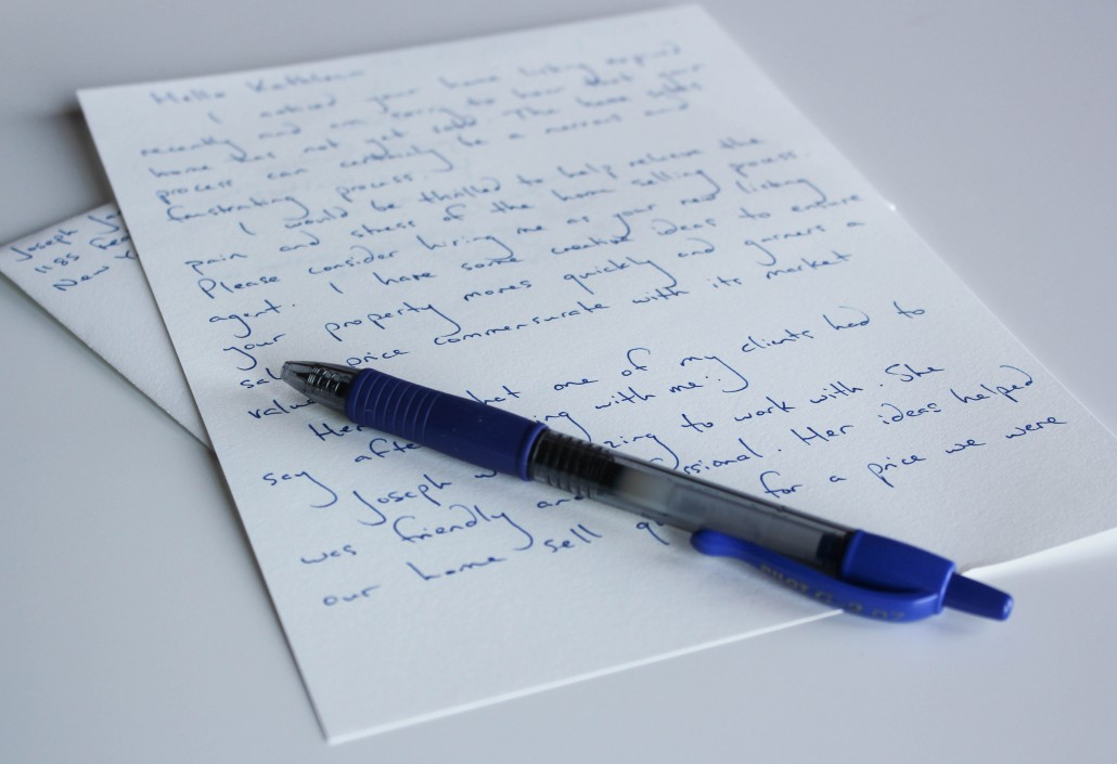 Handwritten Letters
